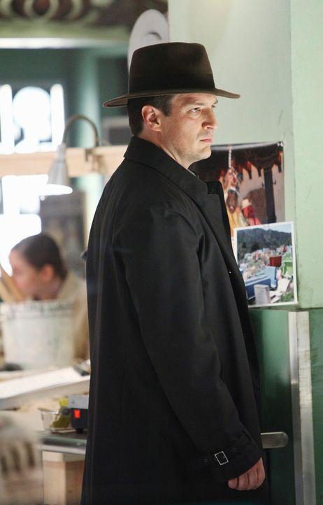 Die Ermittlungen führen Castle (Nathan Fillion) in das Historische Museum von New York. - Bildquelle: ABC Studios