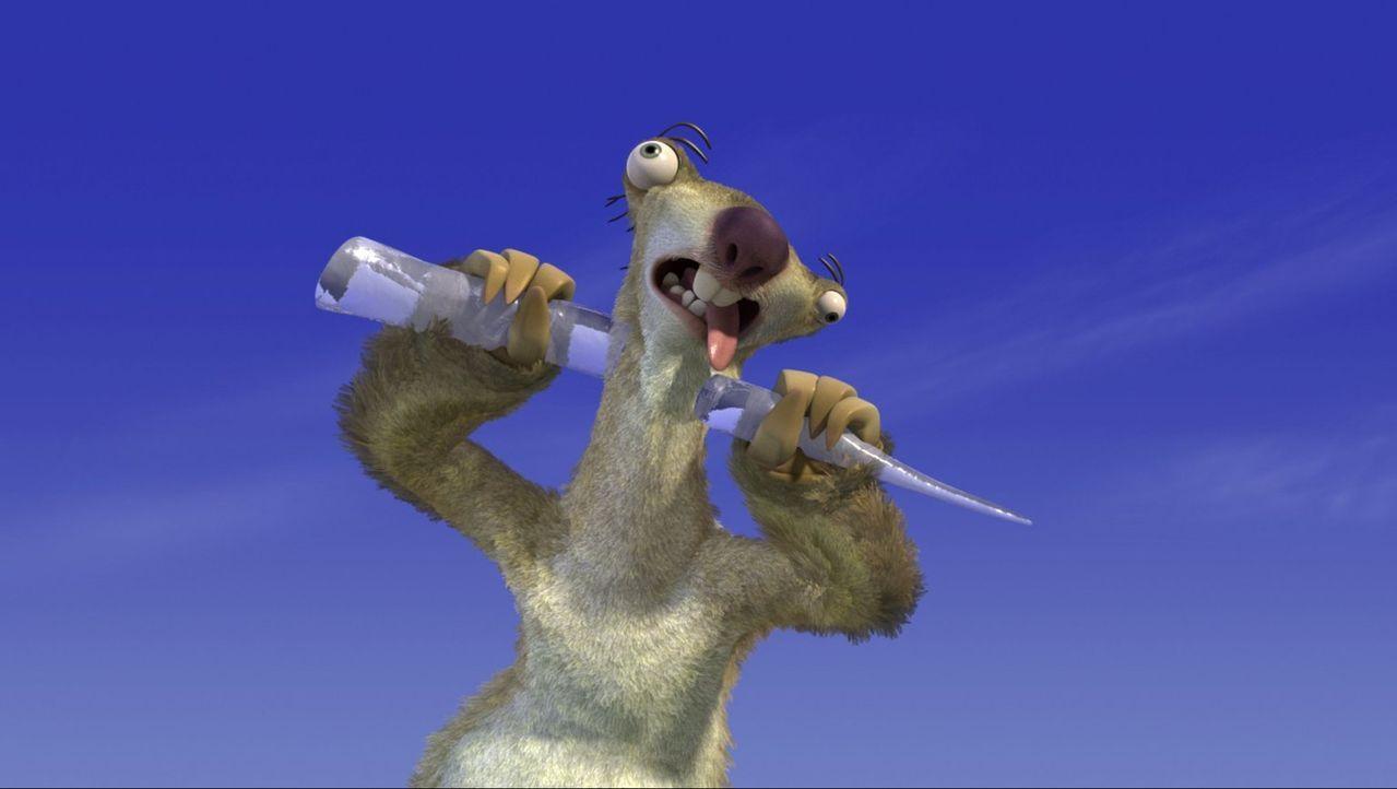 Der tollpatschige Sid (Foto) meint es immer nur gut, dennoch schafft er es jedem und vor allem Manni auf die Nerven zugehen ... - Bildquelle: 2002 Twentieth Century Fox Film Corporation.  All rights reserved.