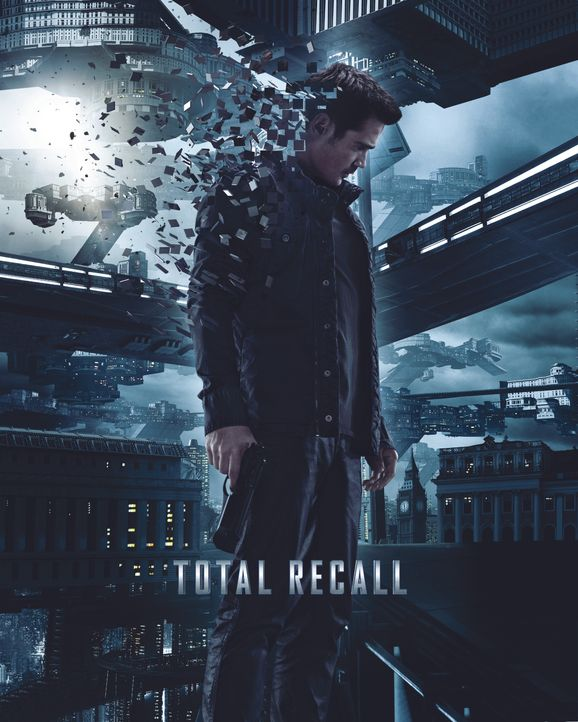 TOTAL RECALL - Plakatmotiv - Bildquelle: Michael Gibson 2012 Columbia Pictures Industries, Inc. All Rights Reserved. ALL IMAGES ARE PROPERTY OF SONY PICTURES ENTERTAINMENT INC. / Michael Gibson