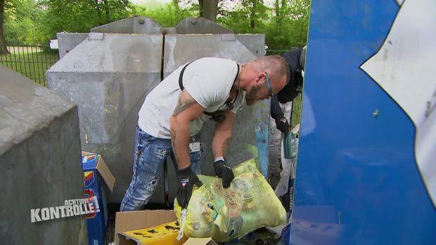 Achtung Kontrolle - Achtung Kontrolle! - Thema U.a.: Illegale Abfallablagerungen Rufen Die Mülldetektive Auf Den Plan
