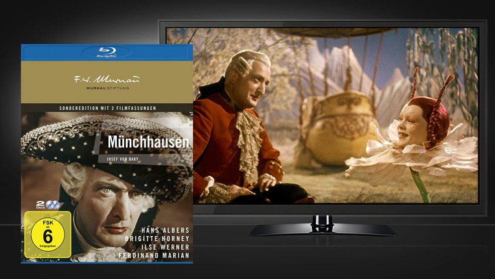 Münchhausen (Blu-ray) - Bildquelle: Universum Film