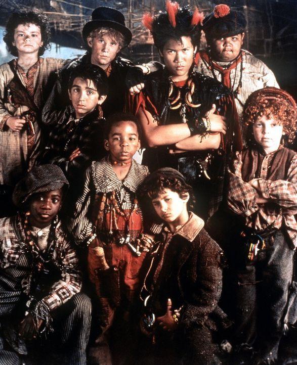 Das Land Nirgendwo ist ein Zauberreich, das nur Kinder wahrnehmen können. Dort leben die stärksten Widersacher von dem machtgierigen Captain Hook... - Bildquelle: Copyright   1991 TriStar Pictures, Inc. All Rights Reserved.