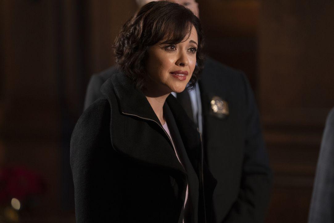 Maria Baez (Marisa Ramirez) - Bildquelle: Patrick Harbron 2019 CBS Broadcasting Inc. All Rights Reserved. / Patrick Harbron