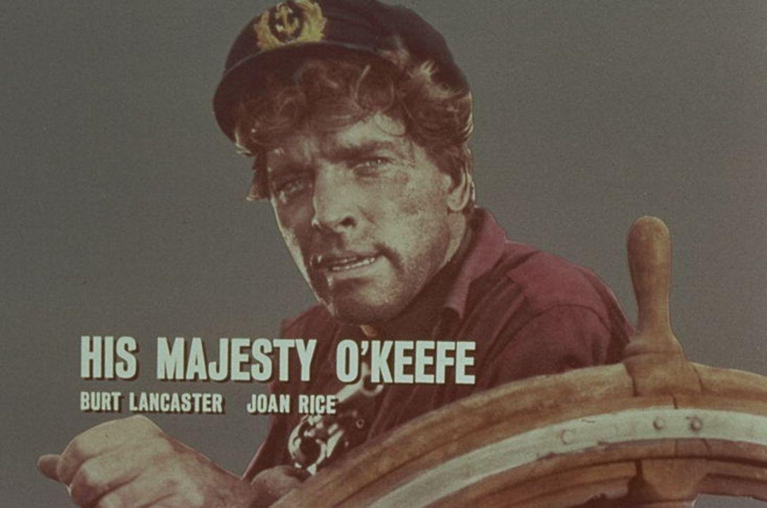 Nach seiner Rückkehr auf die Insel Tonga, wird Kapitän David O'Keefe (Burt Lancaster) von Eingeborenen angegriffen. - Bildquelle: Warner Bros.