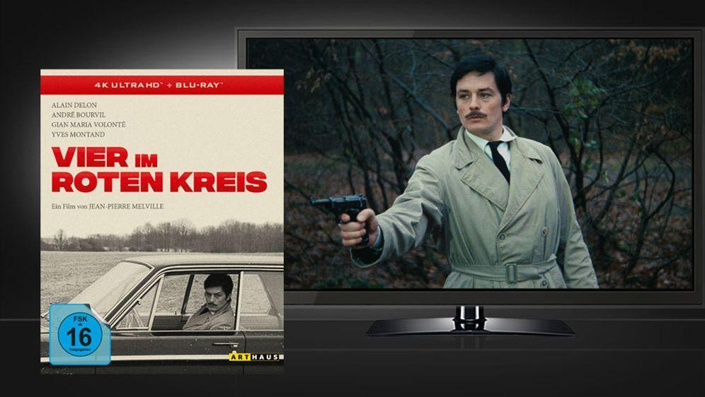 Vier im Roten Kreis (4k UHD+Blu-ray Disc) - Bildquelle: Studiocanal