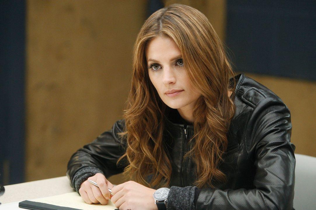 Verhört einen Verdächtigen: Kate Beckett (Stana Katic) - Bildquelle: 2011 American Broadcasting Companies, Inc. All rights reserved.