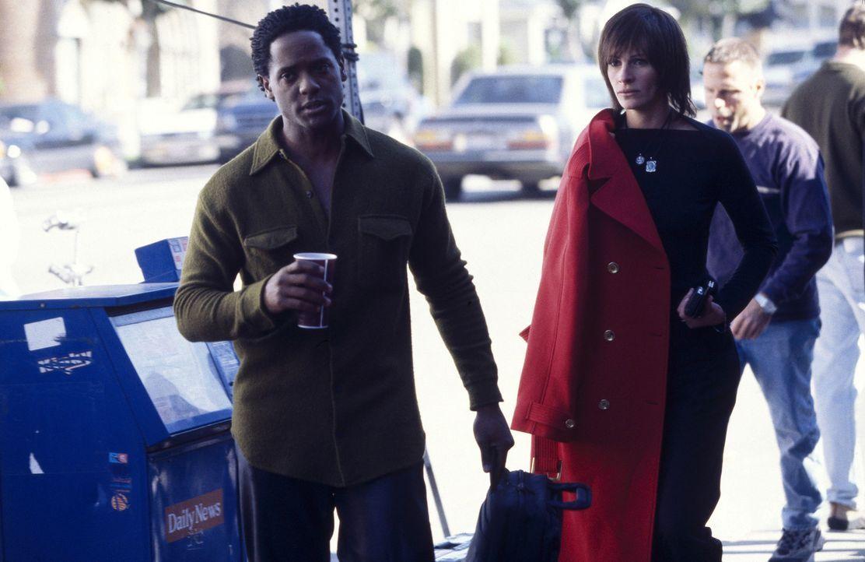 Ihr ganzes Leben ein Film? Calvin (Blair Underwood, l.) und Francesca (Julia Roberts, l.) ... - Bildquelle: Miramax