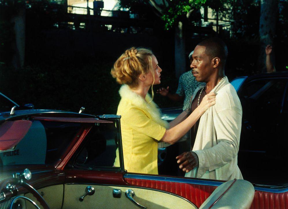 Die Schauspielerin Daisy (Heather Graham, l.) erhofft sich durch die Rolle in Bowfingers Film den großen Durchbruch. Während Kit (Eddie Murphy, r.... - Bildquelle: Universal Pictures