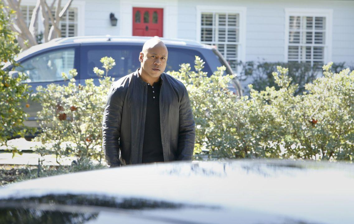 Bangt um die Sicherheit seiner Familie: Sam (LL Cool J) ... - Bildquelle: CBS Studios Inc. All Rights Reserved.