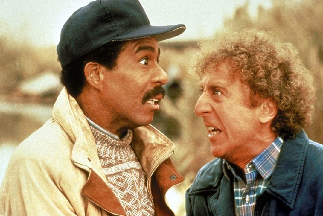 Wally (Richard Pryor, l.) ist blind und sein Freund Dave (Gene Wilder, r.) ist taub. Beide versuchen nach Kräften, ihre Behinderung vor ihrer Umwel... - Bildquelle: TriStar Pictures