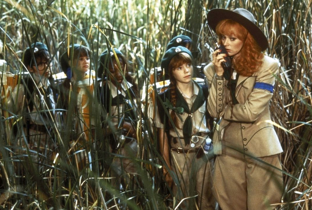 Greift zu allen Hilfsmitteln: Phyllis (Shelley Long) ... - Bildquelle: Columbia Pictures