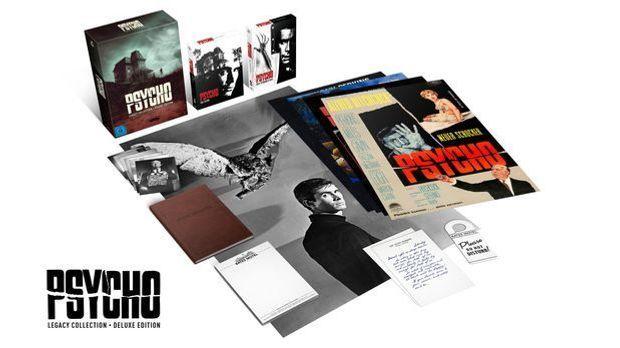 Psycho Legacy Collection - Box Inhalt