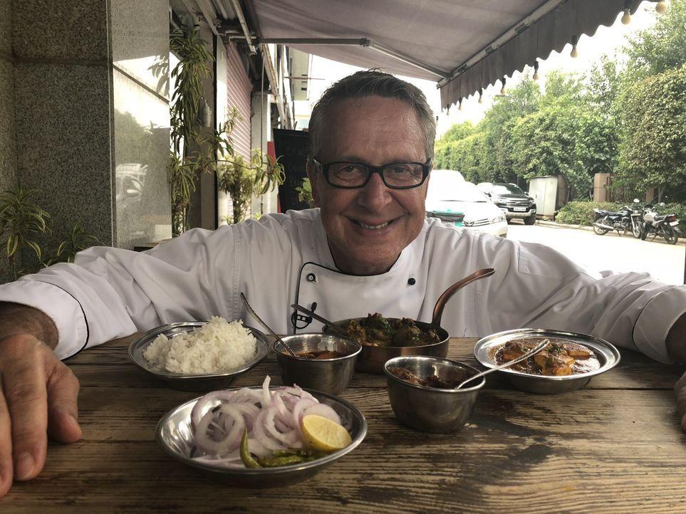 Dirk Hoffmann begibt sich auf Weltreise, um die Lieblingsgerichte der Deutschen zu finden. Heute reist er nach Indien ... - Bildquelle: Kabel Eins
