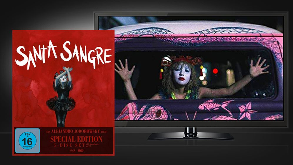 Santa Sangre (Blu-ray + DVD Box Set)