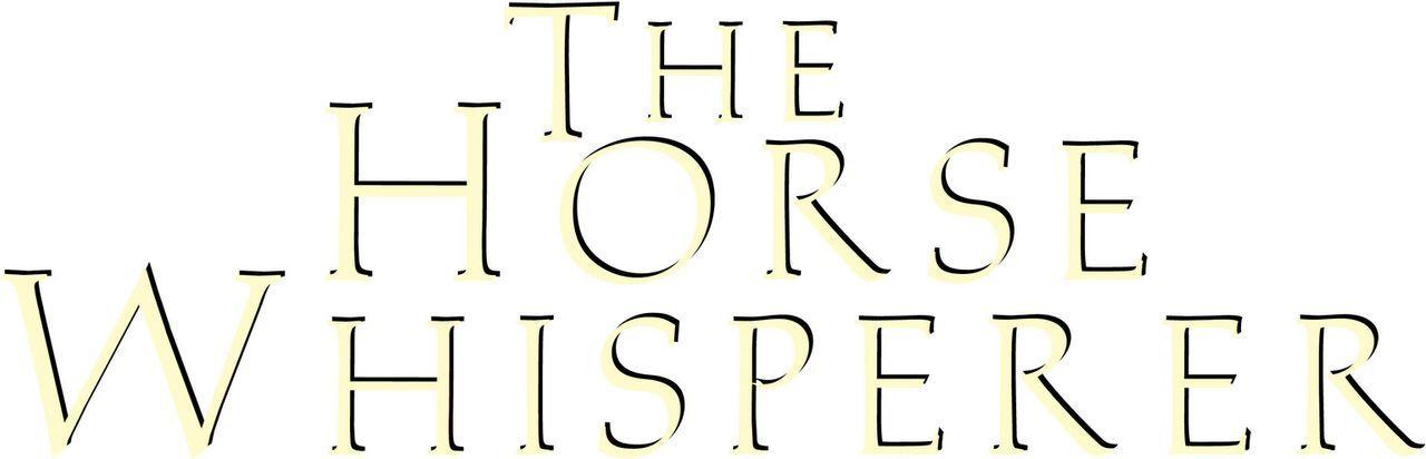 The Horse Whisperer - Originaltitel Logo ... - Bildquelle: Elliott Marks Touchstone Pictures