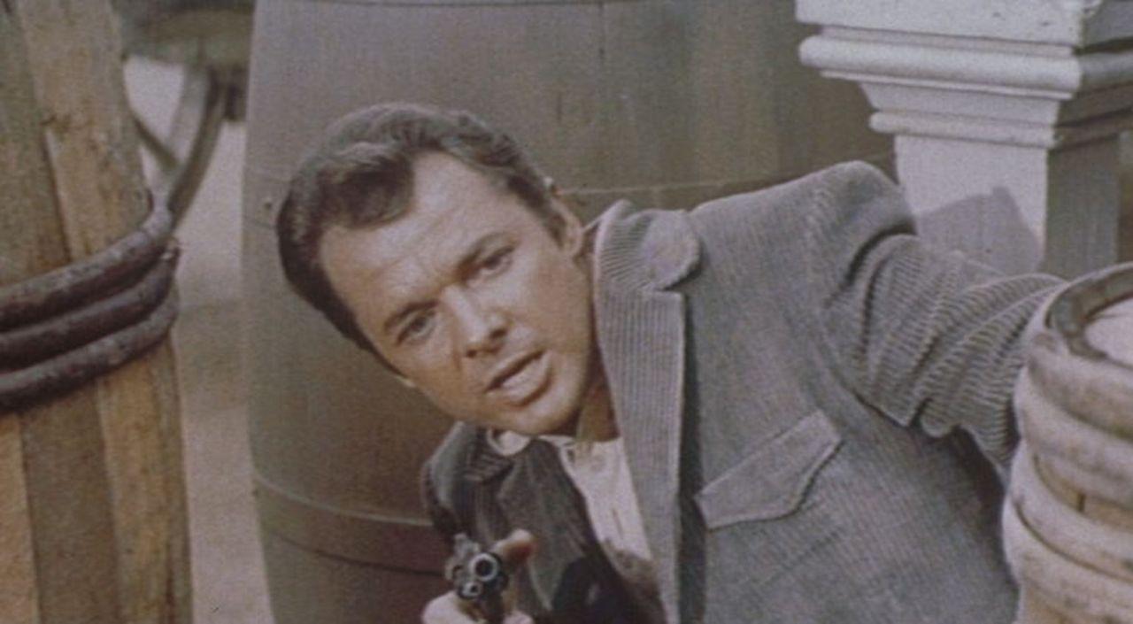 Um das mörderische Geschäft einer Kopfgeld-Bande aufzudecken, wird der Detektiv Gifford (Audie Murphy) als Lockvogel eingesetzt. Als er entlarvt w... - Bildquelle: Allied Artists Pictures