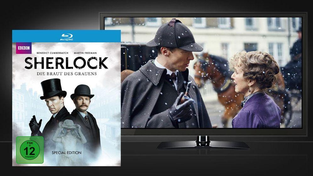 Sherlock: Die Braut des Grauens (Blu-ray Disc) - Bildquelle: Polyband