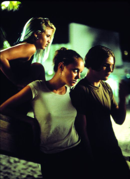 Planen ein Mordkomplott: (v.l.n.r.) Heather (Kelli Garner), Ali (Bijou Phillips) und Donny (Michael Pitt) ...