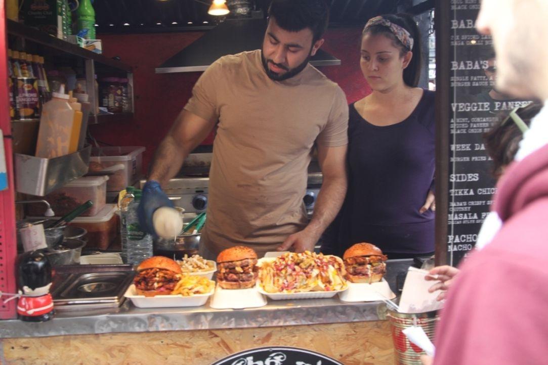 Jedes Land hat seine ganz eigenen Streetfood-Kreationen. Was spricht die Londoner zurzeit am meisten an? - Bildquelle: kabel eins