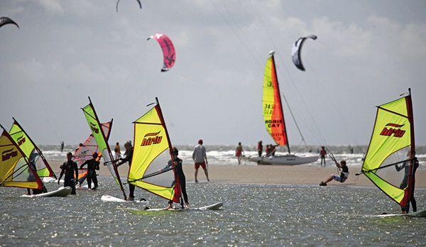 Windsurfen - Bildquelle: Tourismuszentrale Sankt Peter-Ording
