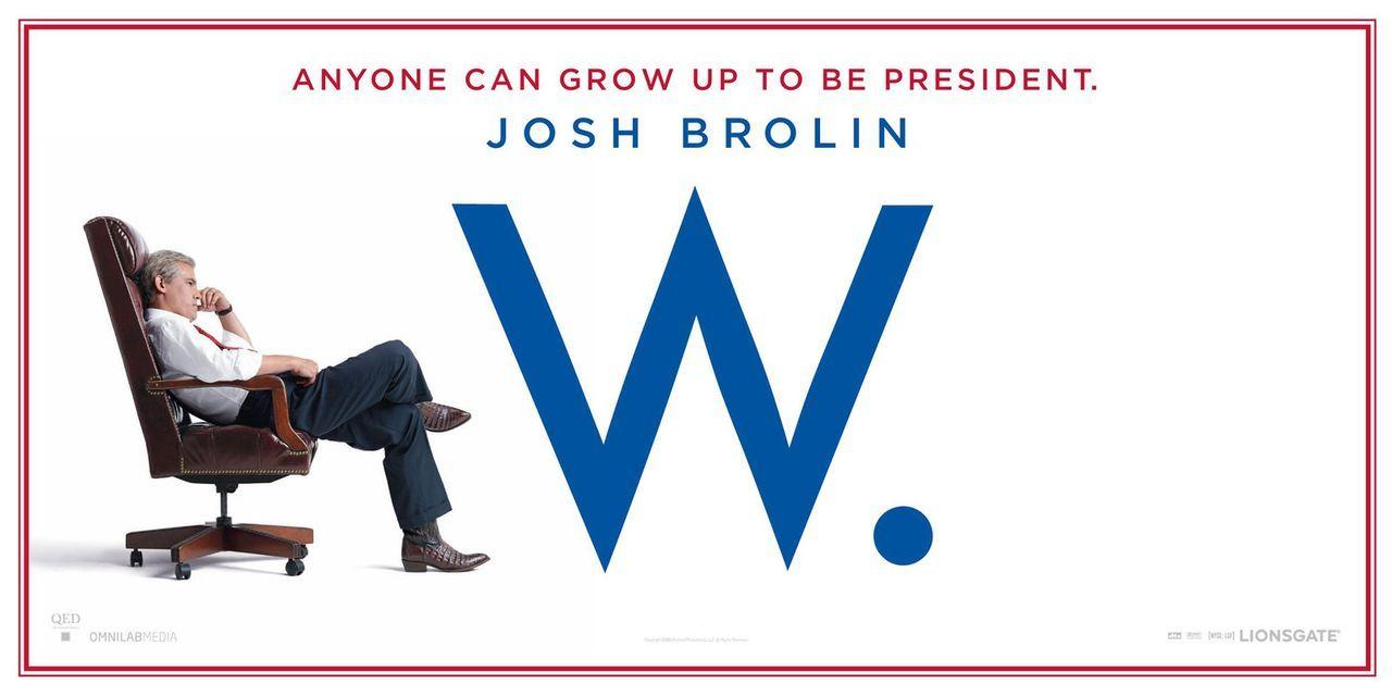 """In seiner Politsatire """"W."""" nimmt sich Oliver Stone das Leben und Schaffen von George W. Bush, den Josh Brolin verkörpert, vor ... - Bildquelle: Sidney Ray Baldwin 2008 Lionsgate Entertainment. All Rights reserved."""