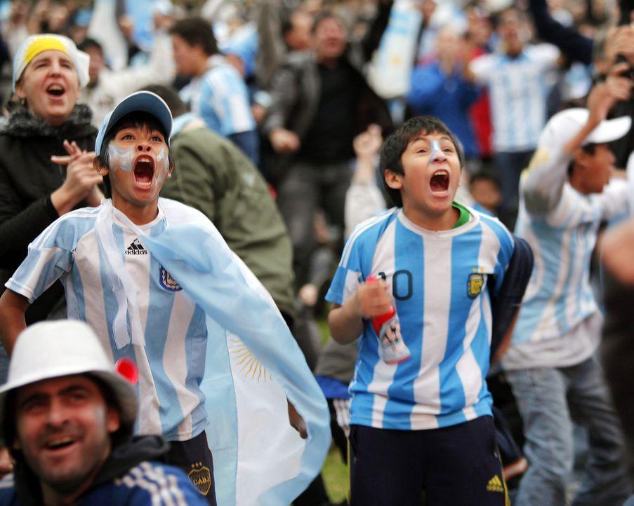So feuert Argentinien an - Bildquelle: dpa
