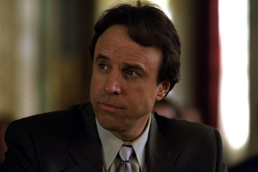 Kann Davids Anwalt Sam (Kevin Nealon) ihn von einer Haftstrafe bewahren? - Bildquelle: 2003 Sony Pictures Television International. All Rights Reserved.