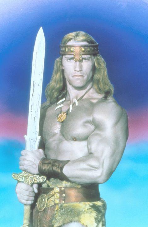 Conan (Arnold Schwarzenegger) trauert immer noch um seine tote Geliebte Valeria, doch da bekommt er von der Königin Tamaris einen Auftrag, die ihm... - Bildquelle: Universal Pictures