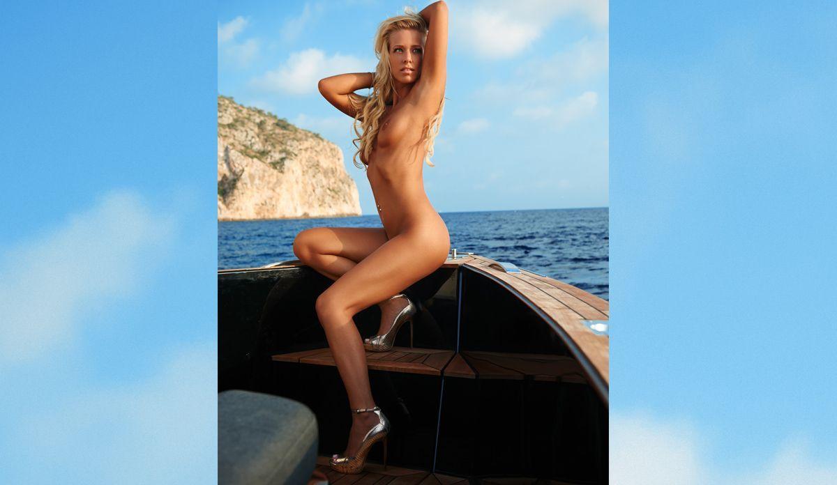 Sina Bachor - Bildquelle: Thomas Fiedler für Playboy August 2015