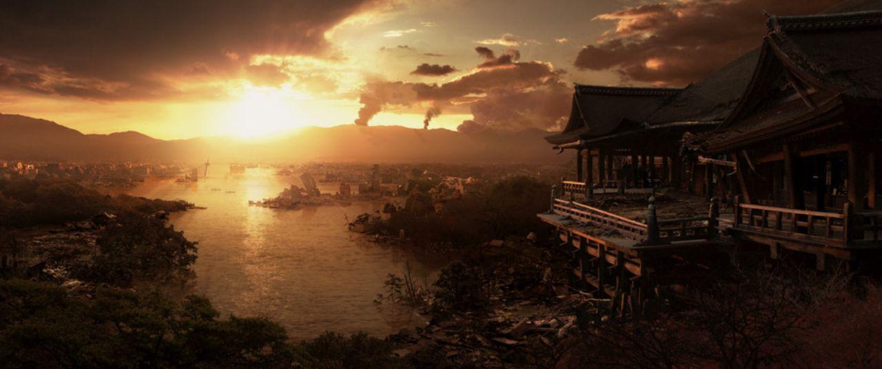 """Japan, das """"Land der aufgehenden Sonne"""", ist dem Untergang geweiht, nachdem die Erdkruste unter dem japanischen Graben ins Rutschen geraten ist ..."""