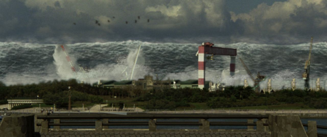 Erdbeben, Vulkanausbrüche, Tsunamis, Gerölllawinen und Feuersbrünste verwüsten Japan, nachdem die tektonische Platte, auf der die japanischen Inseln...
