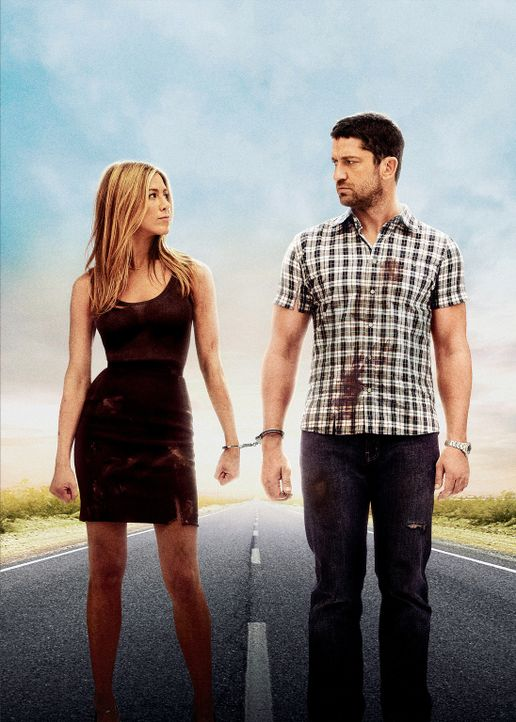 Die Ex ins Gefängnis bringen ... Der beste Job aller Zeiten. Milo Boyd (Gerard Butler, r.) und Nicole Hurley (Jennifer Aniston, l.) ... - Bildquelle: 2010 Columbia Pictures Industries, Inc. and Beverly Blvd LLC. All Rights Reserved.