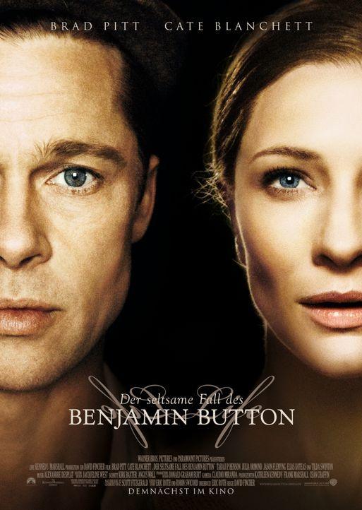 DER SELTSAME FALL DES BENJAMIN BUTTON - Plakatmotiv - Bildquelle: Warner Brothers