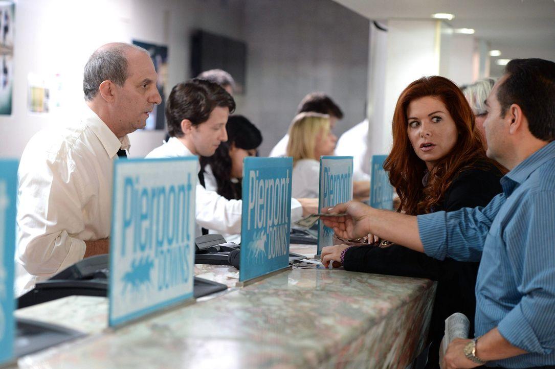 Ein erfolgreicher Fruchtbarkeitsmediziner wird vermisst. Die Ermittlungen in dem Fall führen Laura (Debra Messing, 2.v.r.) zu Pferdewetten an die Re... - Bildquelle: Warner Bros. Entertainment, Inc.