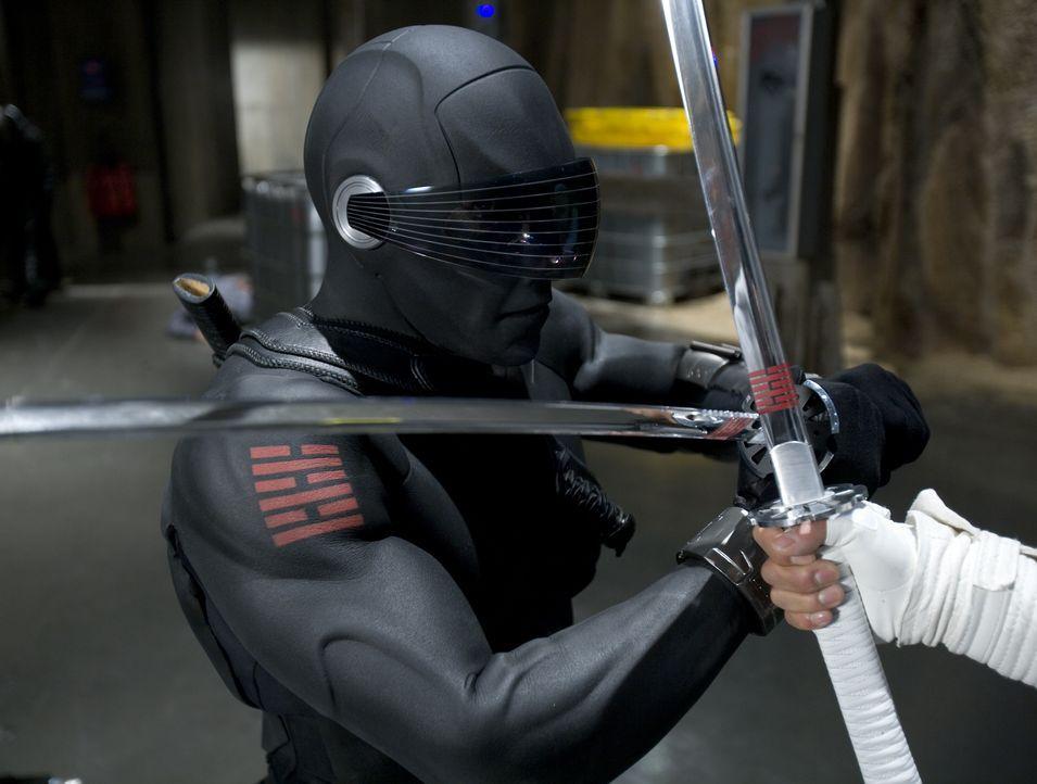 Snake Eyes (Ray Park) fürchtet weder Tod noch Teufel ... - Bildquelle: 2009 Paramount Pictures Corporation. All Rights Reserved.