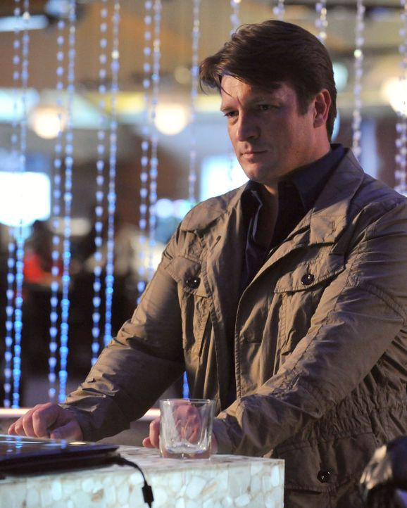 Ein neuer Fall führt Richard Castle (Nathan Fillion) nach Atlantic City ... - Bildquelle: 2011 American Broadcasting Companies, Inc. All rights reserved.