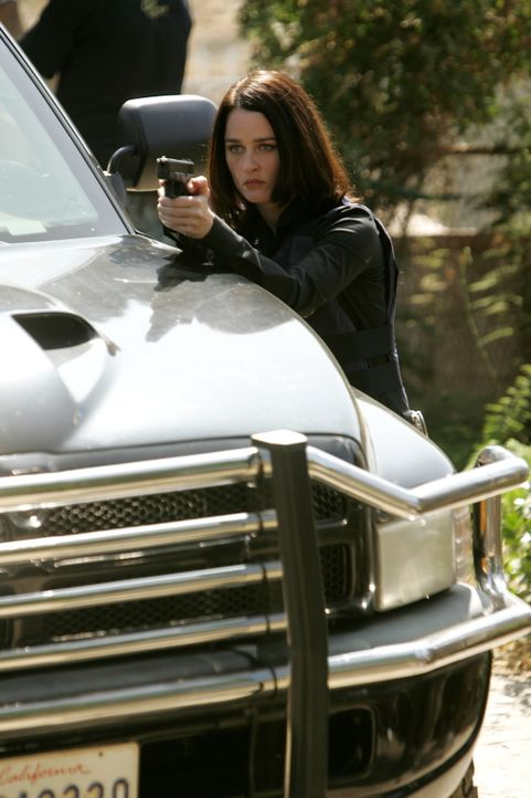 Hat den Mörder der jungen Frau im Visier: Teresa Lisbon (Robin Tunney) ... - Bildquelle: Warner Bros. Television
