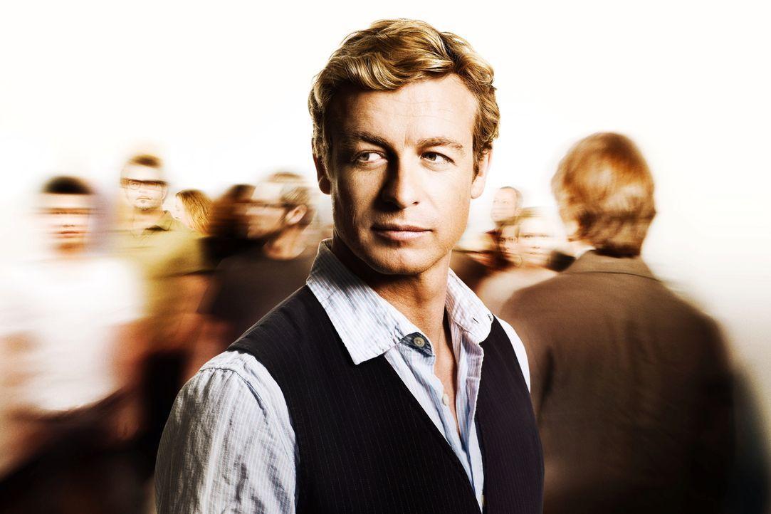 (1. Staffel) - Löst mit seinem besonderen Gespür für Menschen komplizierte Mordfälle: Patrick Jane (Simon Baker) ... - Bildquelle: Warner Bros. Television