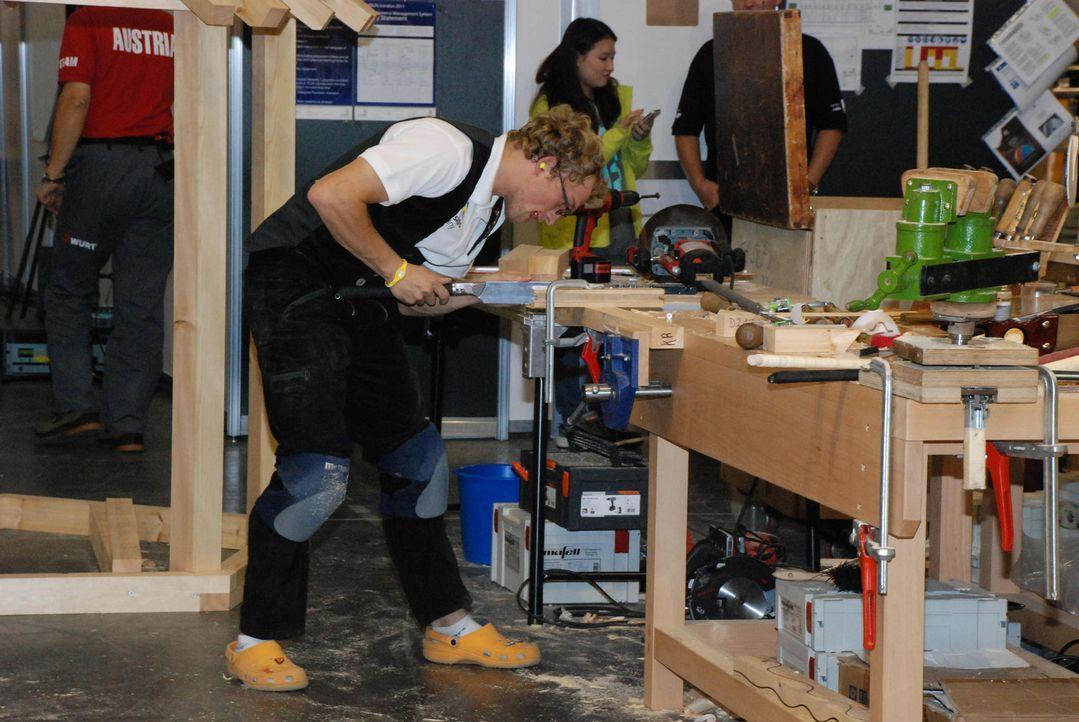 Sie sägen, schweißen und entwerfen um die Wette: Die besten deutschen Handwerker stellen sich in London der absoluten Welt-Elite. Die Handwerker-W... - Bildquelle: kabel eins