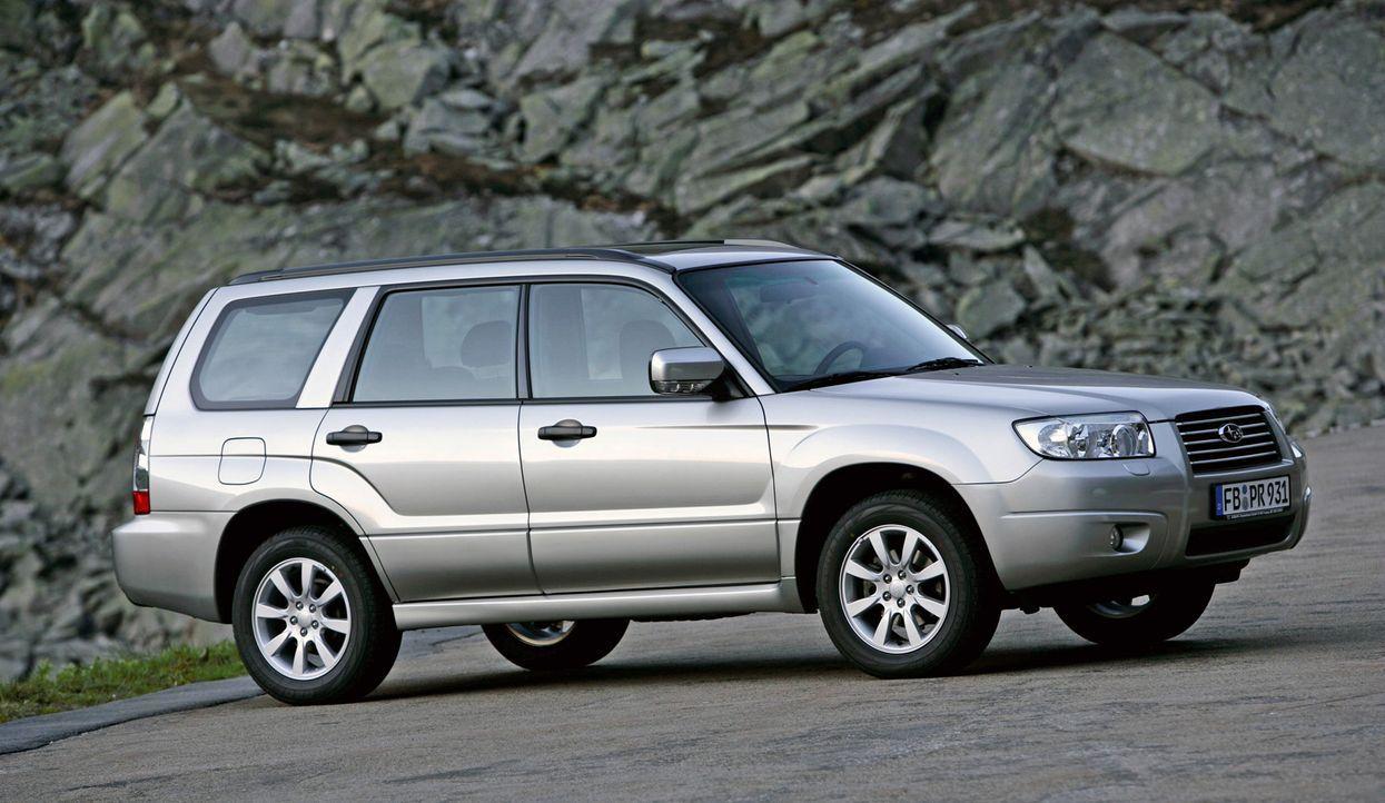 Subaru Forester - Bildquelle: usage Germany only, Verwendung nur in Deutschland