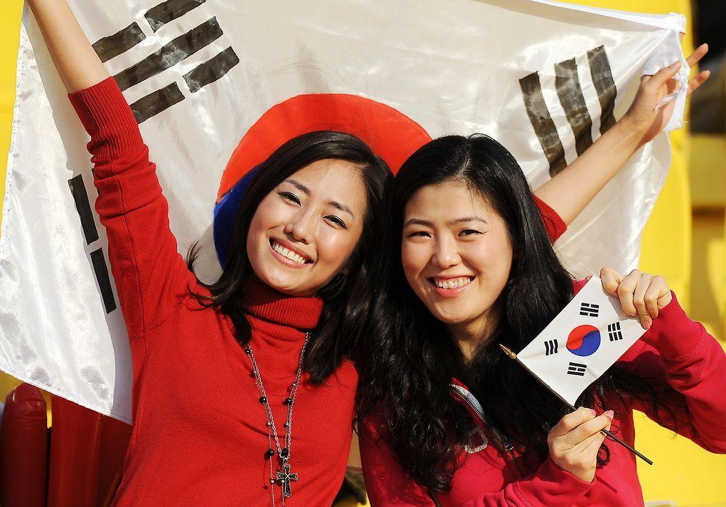 Die süßesten Südkorea Fans - Bildquelle: AFP