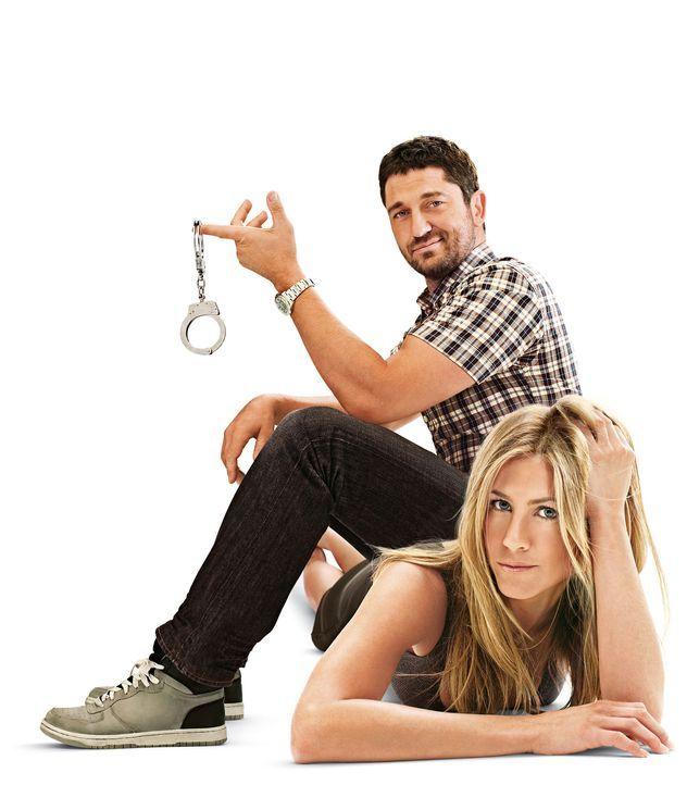 Der Kautions-Cop - die Verfolgung beginnt: Milo Boyd (Gerard Butler, r.) und Nicole Hurley (Jennifer Aniston, l.) ... - Bildquelle: 2010 Columbia Pictures Industries, Inc. and Beverly Blvd LLC. All Rights Reserved.