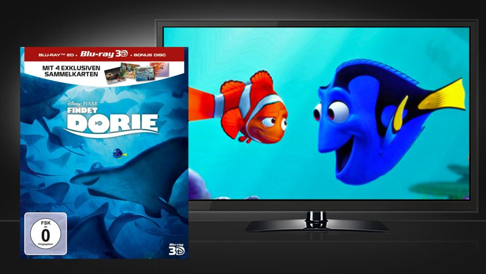 Findet Dorie (3D Blu-ray Limited Edition) - Bildquelle: Walt Disney Home Entertainment