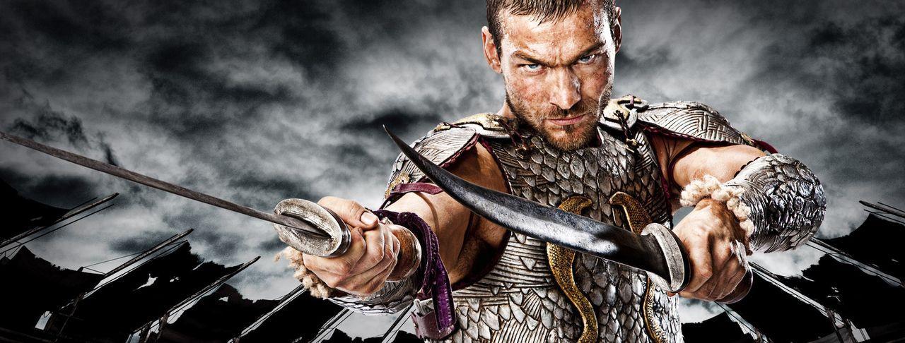 Als sich der thrakische Heeresführer Spartacus (Andy Whitfield) im Krieg gegen die Daker weigert, weiterhin für die Römer zu kämpfen, weil der r... - Bildquelle: 2009 Starz Entertainment, LLC