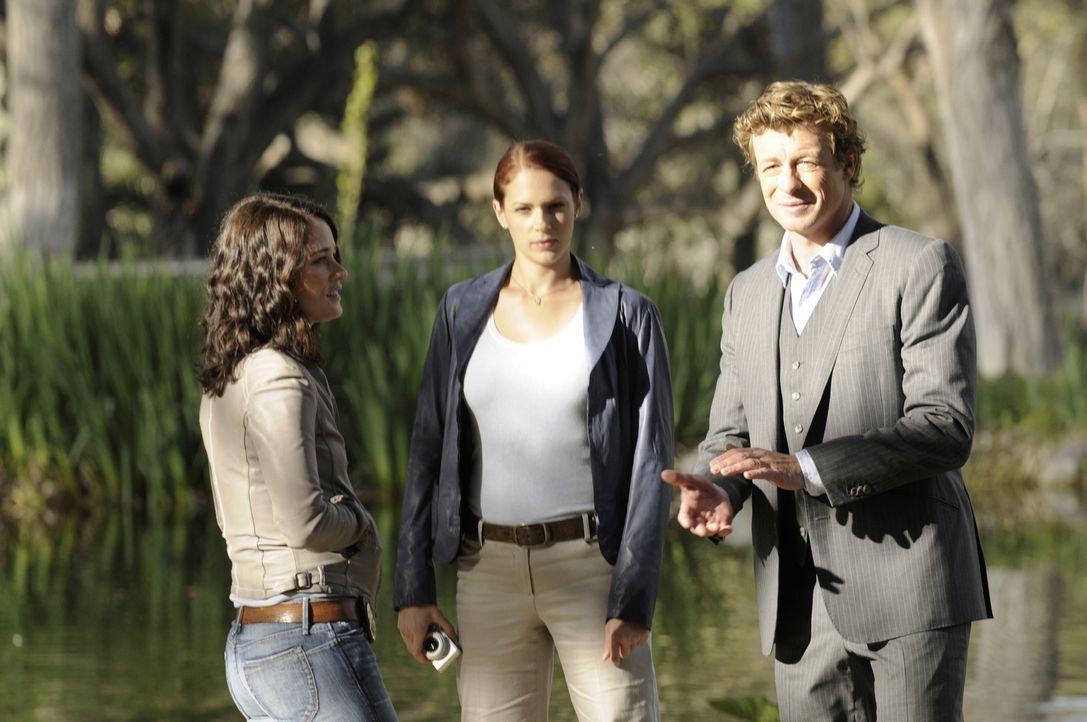 Versuchen alles, um den Mörder von Emma Plaskett dingfest zu machen. Doch wie sich herausstellt, ist es schwieriger als gedacht: Teresa (Robin Tunne... - Bildquelle: Warner Bros. Television