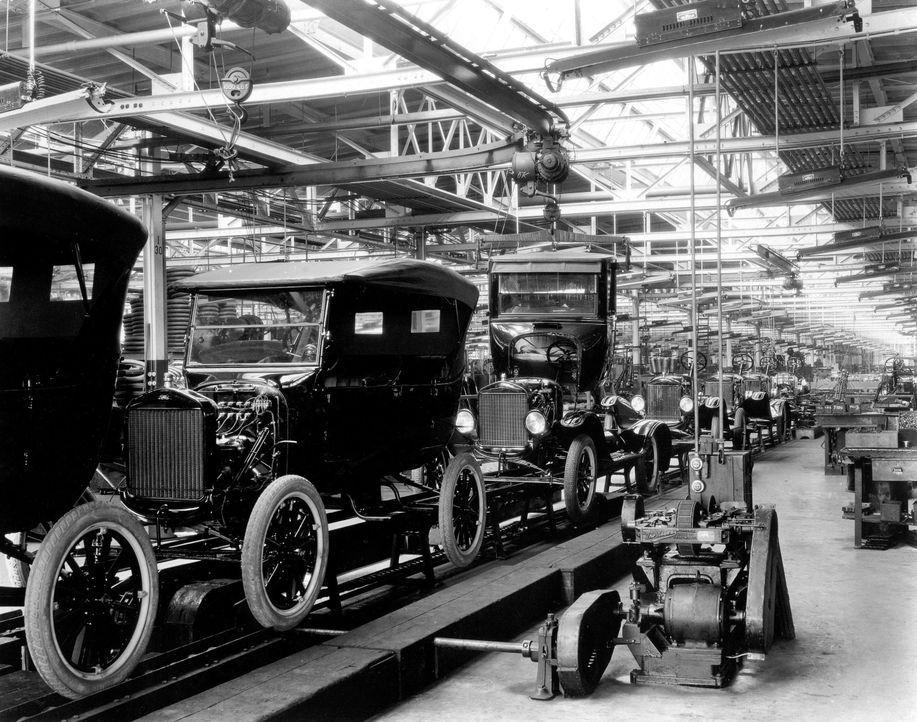 Modell T von Ford 8 - Bildquelle: dpa