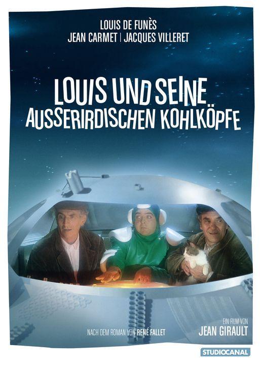 Louis und seine außerirdischen Kohlköpfe - Artwork - Bildquelle: Kinowelt GmbH