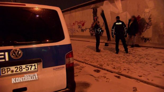 Achtung Kontrolle - Achtung Kontrolle! - Thema U.a.: Bundespolizei Erwischt In Berlin Graffitisprayer Auf Frischer Tat
