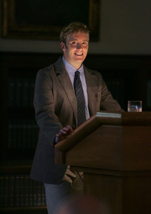 Rick Payne (Jay Mohr) hält einen interessanten Vortrag ... - Bildquelle: ABC Studios