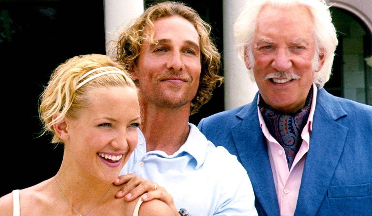 Weil er hochverschuldet ist, muss Benjamin (Matthew McConaughey, M.) den Schatz so schnell wie möglich finden. Er überzeugt seine Frau Tess (Kate... - Bildquelle: Warner Brothers